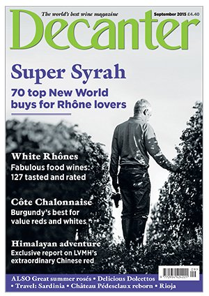 Decanter Septembre 2015